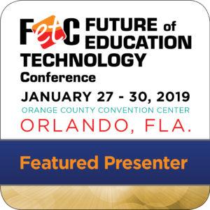 FETC Featured Speaker Badge